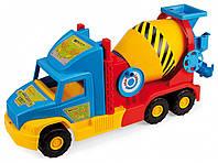 Игрушечная бетономешалка Wader Super Truck с подвижными элементами (36590)