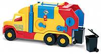 Игрушечный мусоровоз Wader Super Truck с ленточным конвейером (36580)