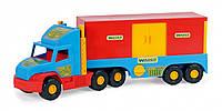 Игрушечная машинка Wader Super Truck в виде фургона (36510)