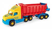 Игрушечный грузовик Wader Super Truck с поворотным кузовом (36400)