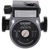 Насос циркуляційний відцентро. KOER KP.GRS-25 / 4-130 (з кабелем і вилкою) (KP0250), фото 2
