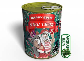 Консервированные носки Happy BDSM New Year Memorable Новогодние БДСМ Носки ES, КОД: 2450611