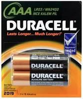 Батарейки  DURACELL AAA LR03 MN 2400 щелочные ORIGINAL 100%