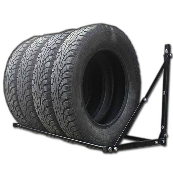 Полки и кронштейны для гаражного хранения шин, колес и дисков