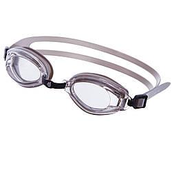 Очки для плавания MadWave PREDATOR M042104 Серебряный ES, КОД: 2459639