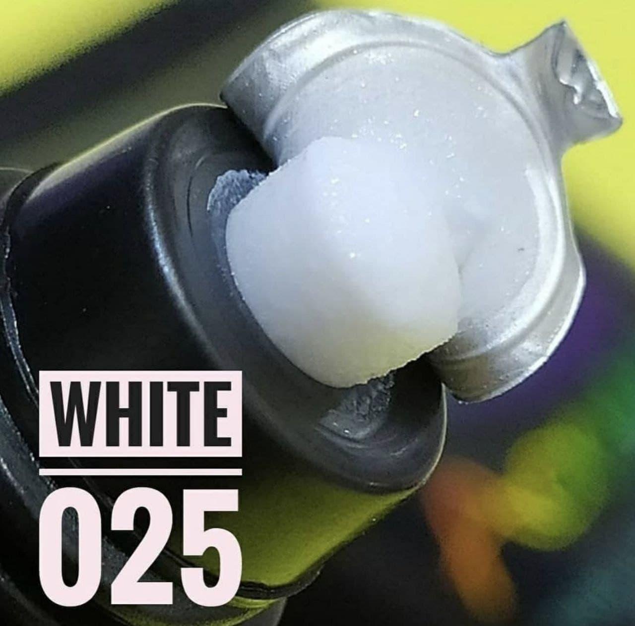 Акрил-гель (полигель) Белый для наращивания ногтей США  #25 30грамм