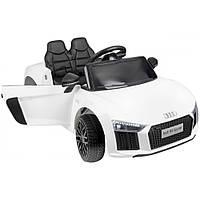 Электромобиль детский на аккумуляторе AUDI HL1818 Электрический автомобиль для детей на пульт управлении белый