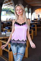 Атласная блузка, фото 3