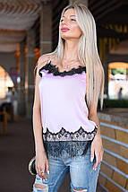 Атласная блузка, фото 2