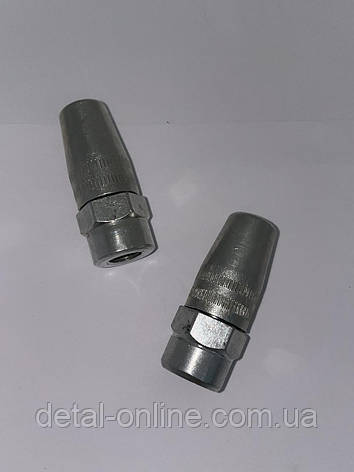 QH060 Наконечник металлический  шланга солидолонагнетателя (STARPARTS), фото 2