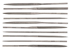 Topex Надфілі голчасті по металу, набір 10 шт.