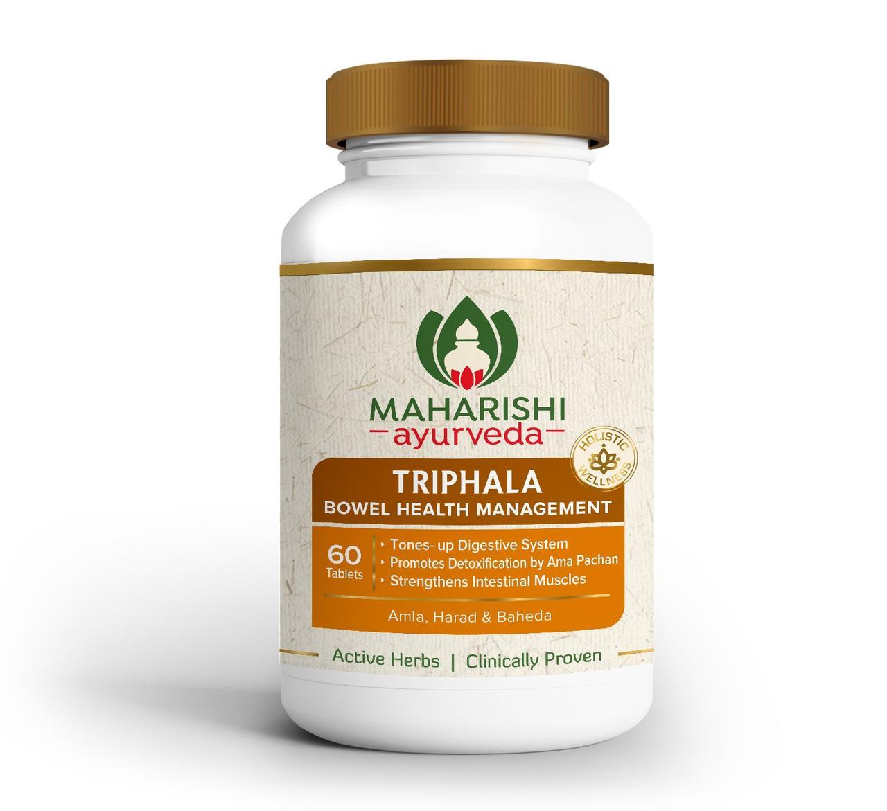 Трифала, Трипхала 60 таб - очищение, омоложение, детоксикация, восстановления пищеварения