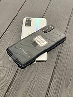 "Смартфон Samsung Galaxy S20 (SM-G980FD) 128gb DUOS Black, 12+64+12/10Мп, 6,2"", Exynos 990, 4000mAh, 12 міс"