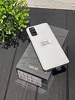 "Смартфон Samsung Galaxy S20 (SM-G980FD) 128gb DUOS White, 12+64+12/10Мп, 6,2"", Exynos 990, 4000mAh, 12 міс"
