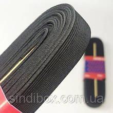 Резинка для одежды широкая STRONG 2см Черная (СТРОНГ-0427)