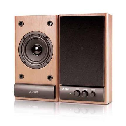 Акустична система 2.0 F&D R215 Brown, фото 2