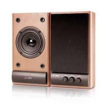 Акустическая система 2.0 F&D R215 Brown