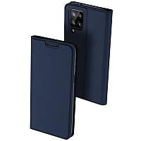 Чехол-книжка Dux Ducis с карманом для визиток для Samsung Galaxy A22 4G Синий