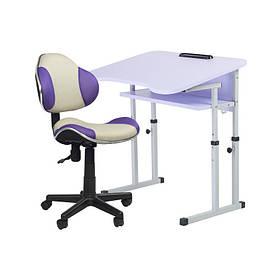 Парта + кресло трансформеры Познайка