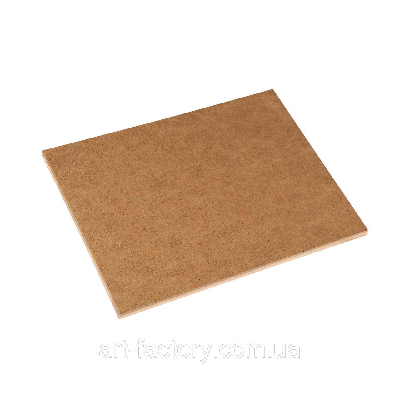 Планшет художественный деревянный ДВП 20 х 30 см