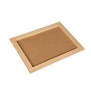 Планшет художественный деревянный ДВП 20 х 30 см, фото 2