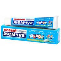 """Зубная паста """"Юниор яблоко и мята"""" Новый Жемчуг 50мл"""