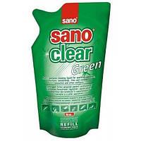 Средство Sano для мытья окон Green (запаска), 750 мл