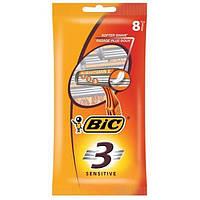 Набір одноразових станків для гоління BiC Sensitive 3, 4 шт