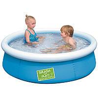 Детский надувной бассейн Bestway 57241 (152х38 см, объём 471 л)