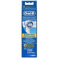 Насадка для зубної щітки Braun Oral-B Precision clean EB-20, 4 шт