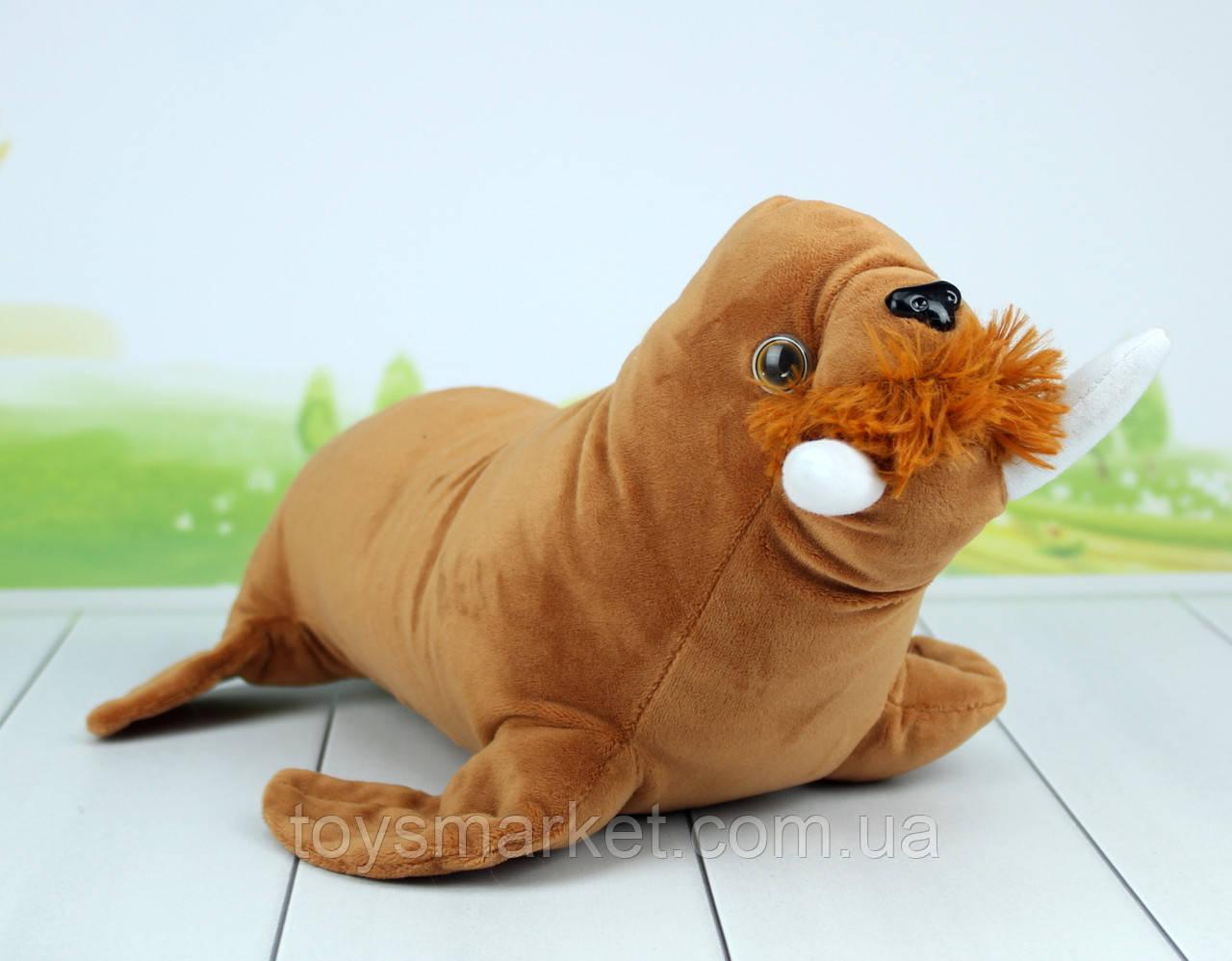 Мягкая игрушка Морж, 32 см.