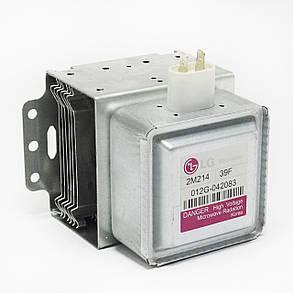 Магнетрон для микроволновой печи Lg 2M214 39F, Witol 2M218J, фото 2