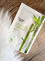 Маска для обличчя з екстрактом бамбука, гуайявы і гіалуронової кислоти BISUTANG Bamboo Refreshing Replenishment