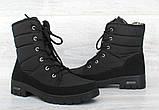Ботинки женские зимние на меху (ПР-3406ч), фото 4