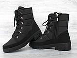 Ботинки женские зимние на меху (ПР-3406ч), фото 5