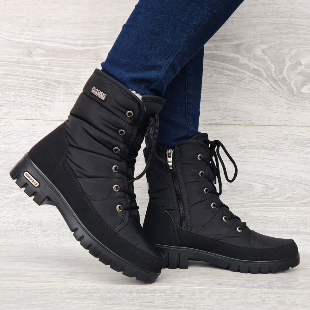 Ботинки женские зимние на меху (ПР-3406ч)
