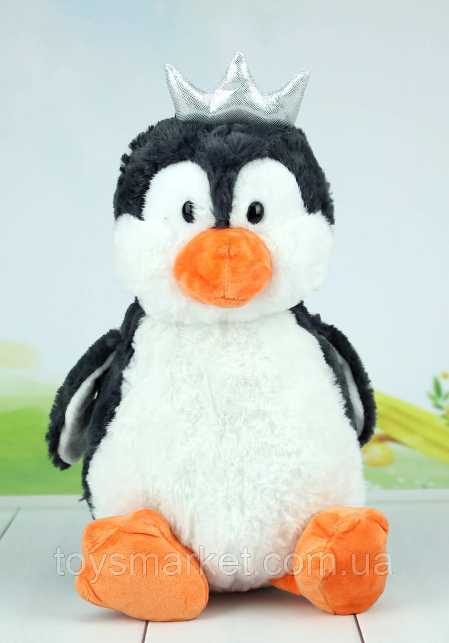 Мягкая игрушка пингвин, 28 см.