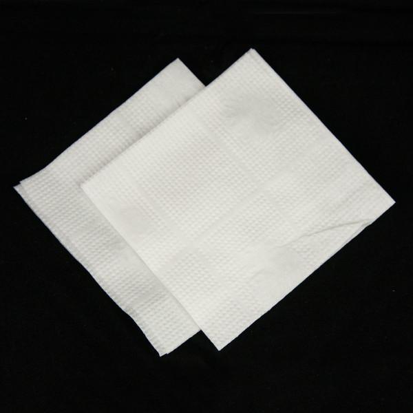 Барні білі серветки 24*24 (10 пач/упак)