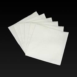Салфетки 33*33 1 слой, белые 100 л/п/24