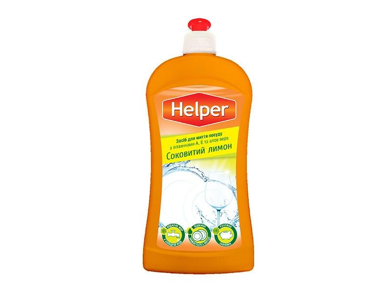 HELPER Засіб для миття посуду лимон 495 мл