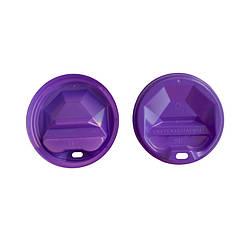 Крышка пластик U для бумажного стакана 90 (50 шт) цветная