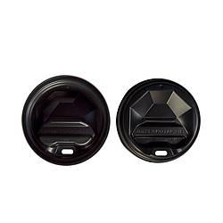 Крышка пластик U д/бум. стакана 69 (50 шт) черная