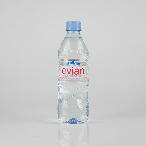 Evian мінеральна вода 0,5*24 ПЕТ