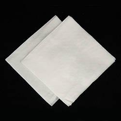 Барные белые салфетки 24*24 500 шт supreme