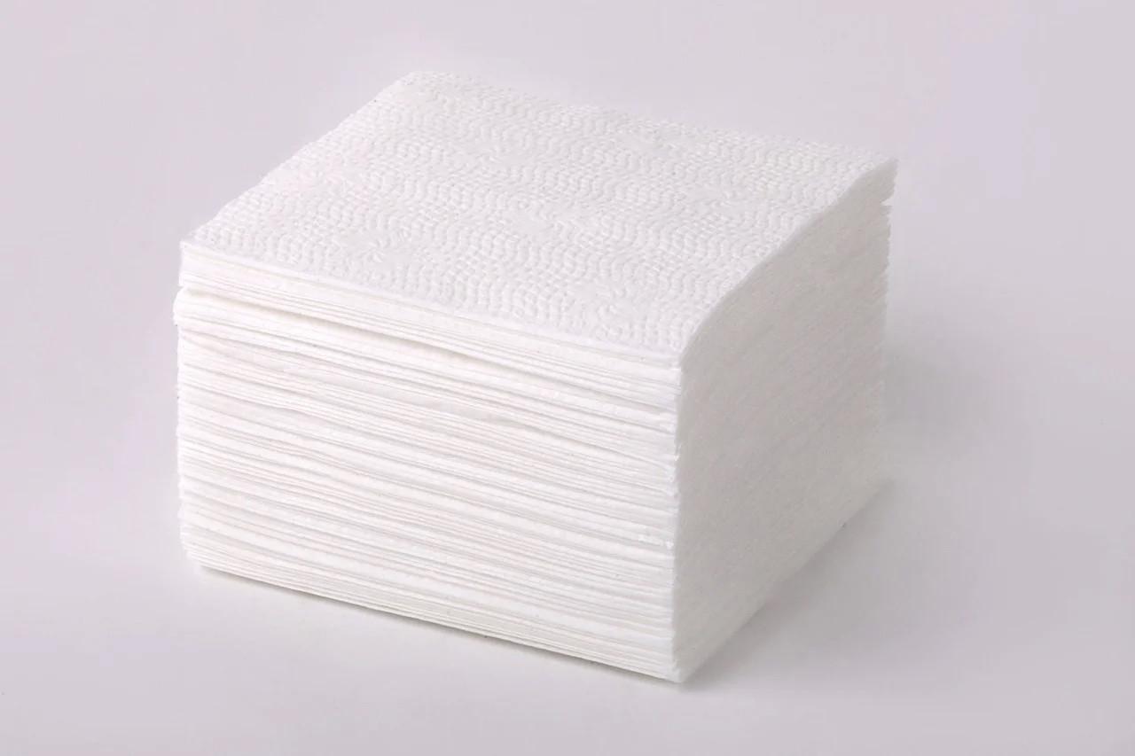 Салфетка 33*33 1 слой белая 500 шт.