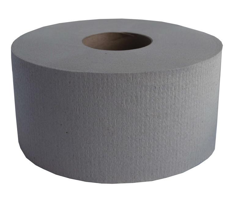 Туалетная бумага Jambo-Luxe  серый мак (120м) D-15 d-6 h-9,5