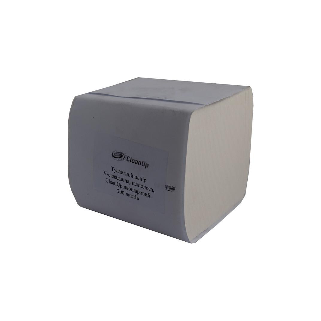 Туалетний папір в аркушах Luxe 200 шт