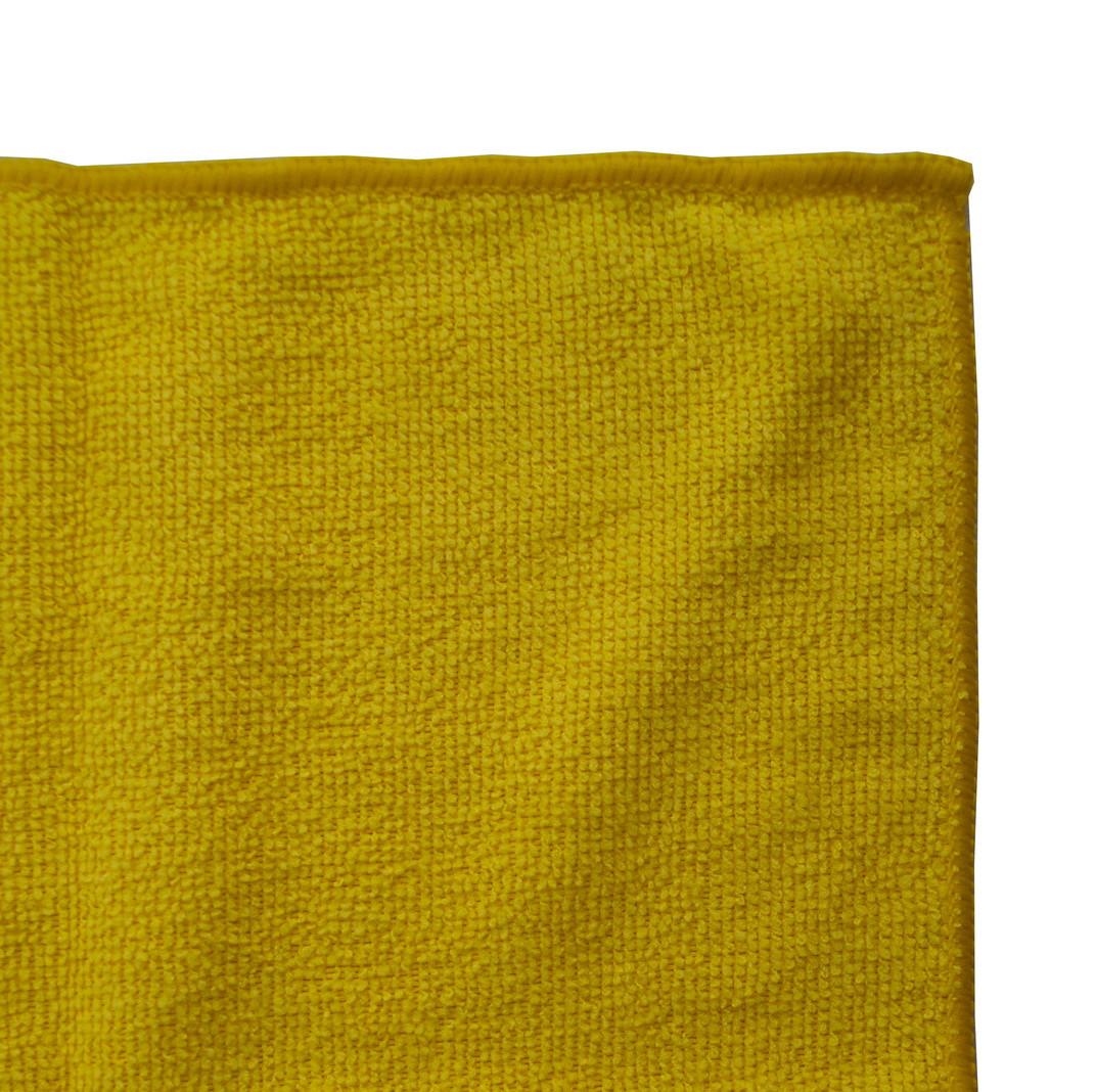 Серветка мікрофібра д/скла/дзеркал жовтий 1 шт