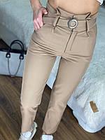 Стильні брюки із завищеною талією