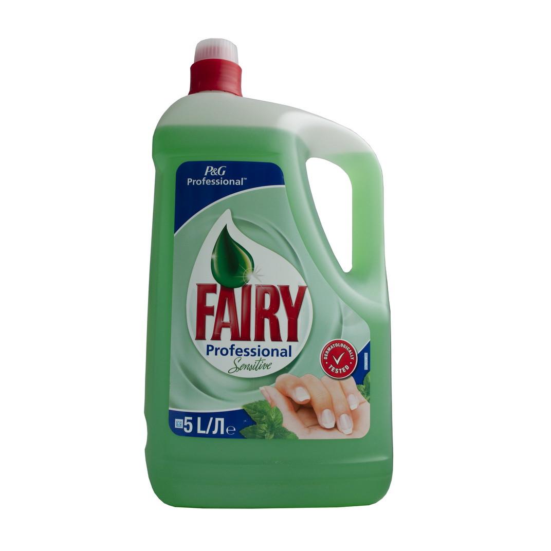 FAIRY 5л  лимон моющее средство д/посуды